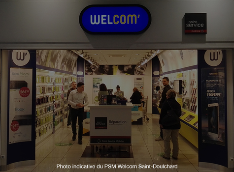 Shop in shop PSM Welcom Roanne CV - Roanne