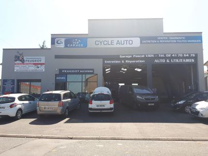 CYCLE AUTO - GARAGE VION - ST CHRISTOPHE DU BOIS