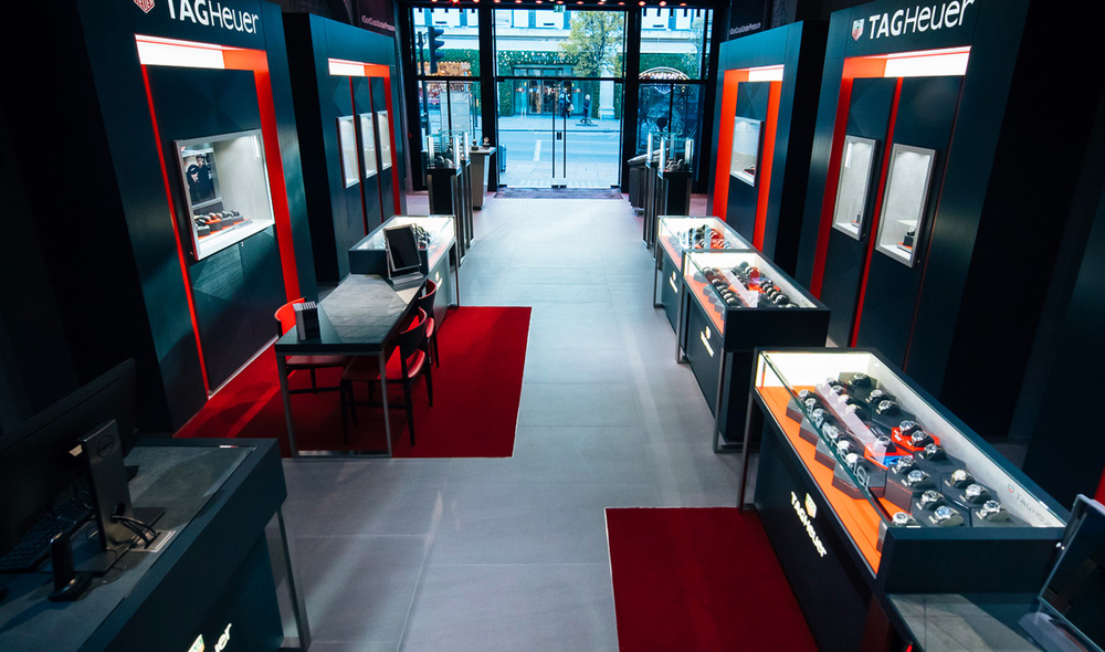 afcbd35b062 TAG Heuer store London - Luxury watches in London - TAG HEUER ...