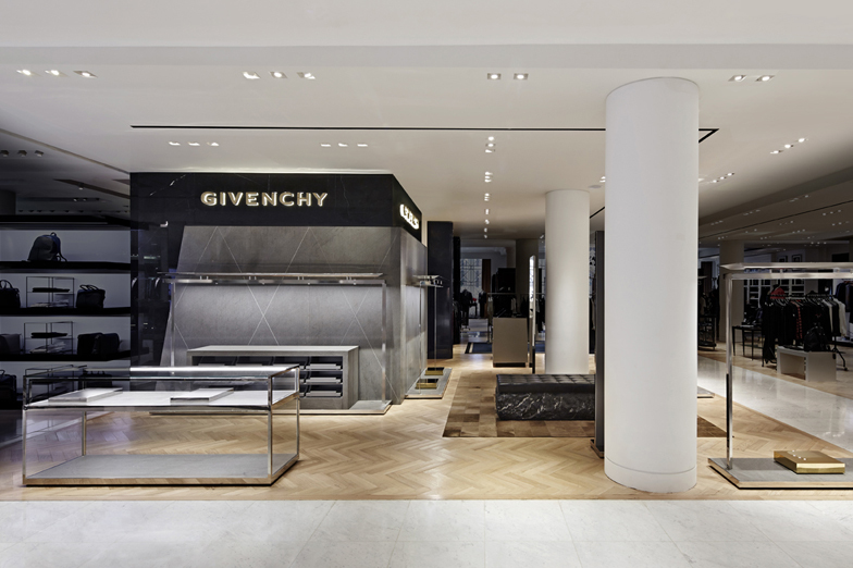 GIVENCHY SELFRIDGES - WOMEN/MEN - London