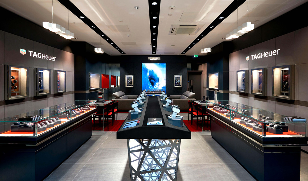 9fcdbc7191e TAG Heuer store Sheffield - Luxury watches in Sheffield - TAG HEUER ...