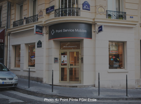 Shop in shop PSM Welcom Bourges Centre Commercial - Bourges