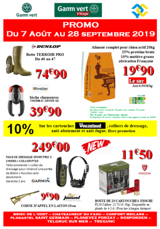 PROMO CHASSE 2019