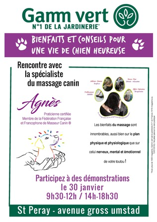 Demonstration Message Canin