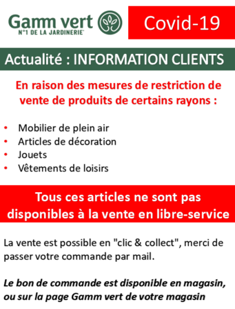 RESTRICTIONS COVID