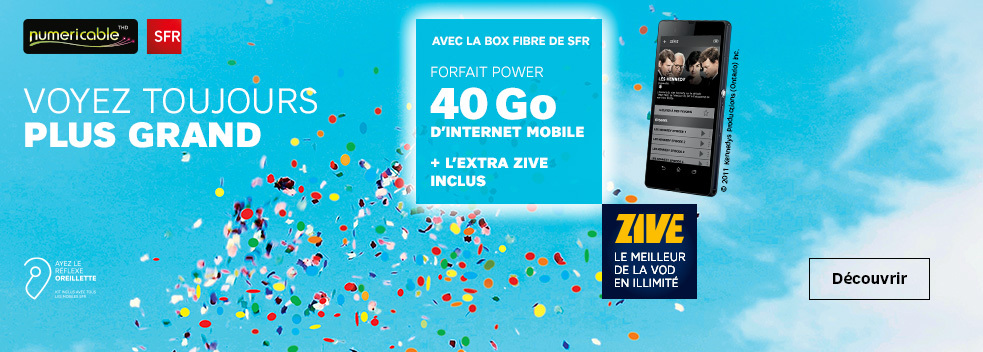 40 Go d'internet mobile