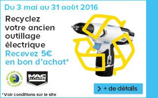 Recyclage outillage electrique