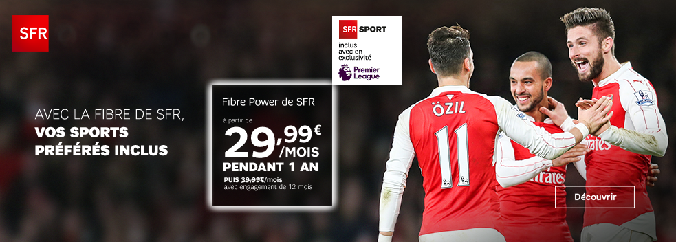 PROMO FIBRE POWER DE SFR