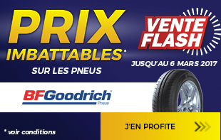 Vente flash BFGoodrich
