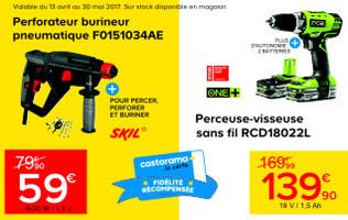 PROMOTION OUTILLAGE