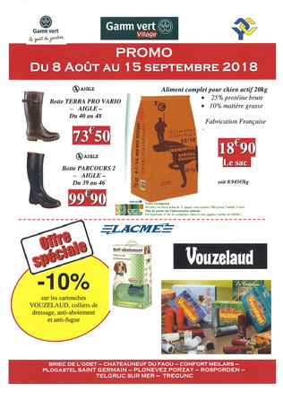 PROMO CHASSE