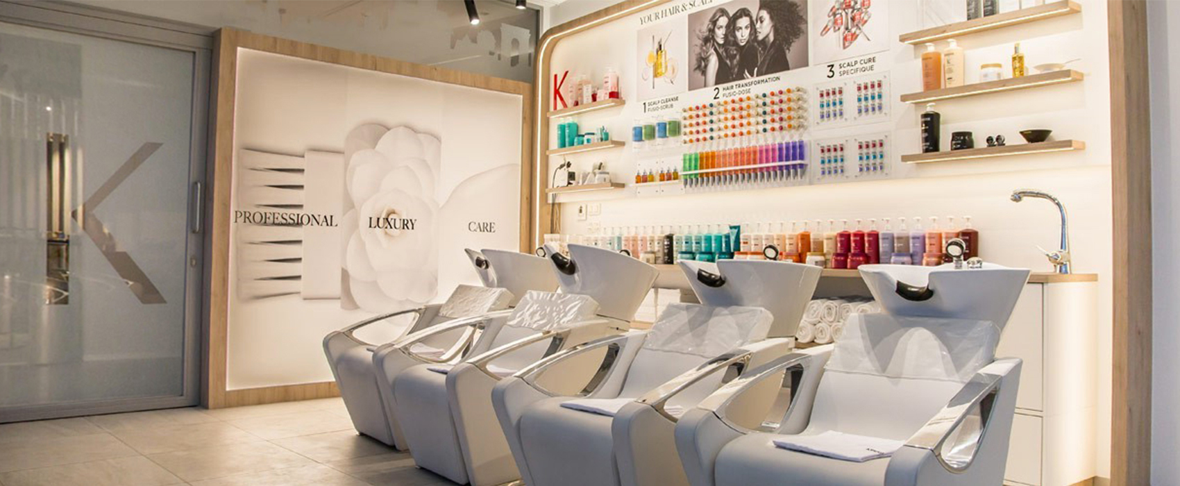Find your Kérastase Hair Salon - Professional Hair & Scalp Experience