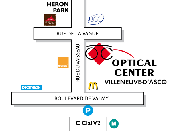 f2d0bb762ab586 Opticien VILLENEUVE D ASCQ - Optical Center - Votre magasin de ...