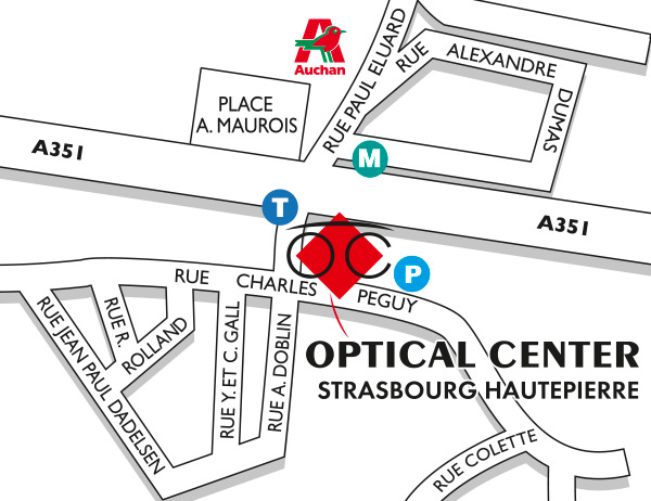 a582d32ce95f5b Opticien STRASBOURG HAUTEPIERRE 67200 - Optical Center