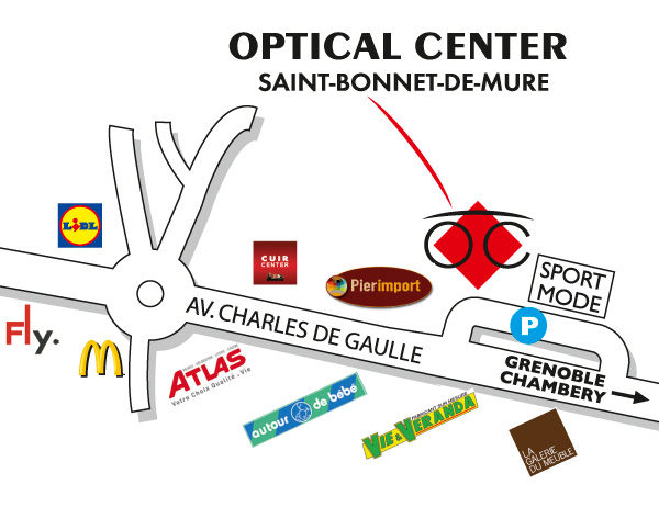 Opticien SAINT BONNET DE MURE - Optical Center - Votre magasin de ...