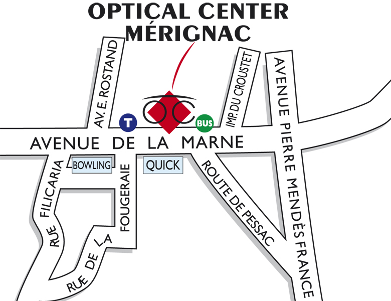 Opticien MERIGNAC - Optical Center - Votre magasin de lunettes à ... bfb0dc6c3c78