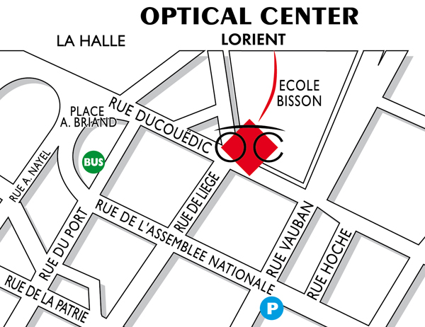 Opticien LORIENT - Optical Center - Votre magasin de lunettes à LORIENT 0da8165087eb